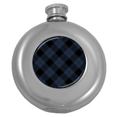 Zigzag pattern Round Hip Flask (5 oz)