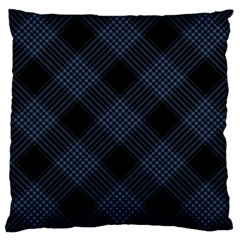 Zigzag pattern Large Cushion Case (Two Sides)