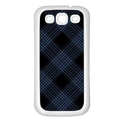 Zigzag pattern Samsung Galaxy S3 Back Case (White)