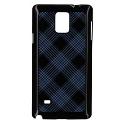 Zigzag pattern Samsung Galaxy Note 4 Case (Black)