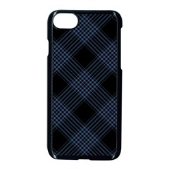 Zigzag pattern Apple iPhone 7 Seamless Case (Black)