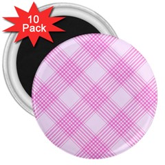 Zigzag pattern 3  Magnets (10 pack)