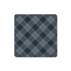 Zigzag pattern Square Magnet