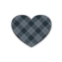 Zigzag Pattern Heart Coaster (4 Pack)