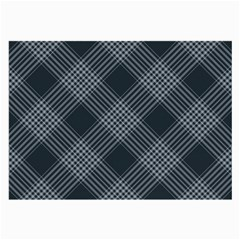 Zigzag pattern Large Glasses Cloth (2-Side)