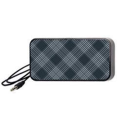 Zigzag pattern Portable Speaker (Black)