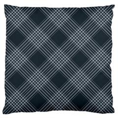 Zigzag pattern Large Cushion Case (Two Sides)