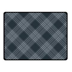 Zigzag pattern Double Sided Fleece Blanket (Small)