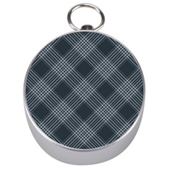 Zigzag pattern Silver Compasses