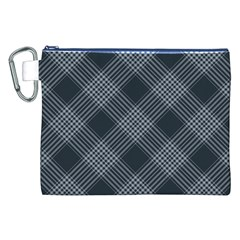 Zigzag pattern Canvas Cosmetic Bag (XXL)