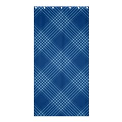 Zigzag pattern Shower Curtain 36  x 72  (Stall)