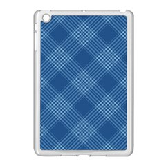 Zigzag pattern Apple iPad Mini Case (White)