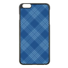 Zigzag pattern Apple iPhone 6 Plus/6S Plus Black Enamel Case