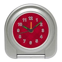Zigzag pattern Travel Alarm Clocks