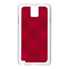 Zigzag pattern Samsung Galaxy Note 3 N9005 Case (White)