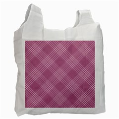 Zigzag pattern Recycle Bag (One Side)