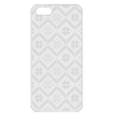 Pattern Apple iPhone 5 Seamless Case (White)