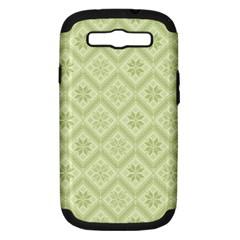 Pattern Samsung Galaxy S III Hardshell Case (PC+Silicone)