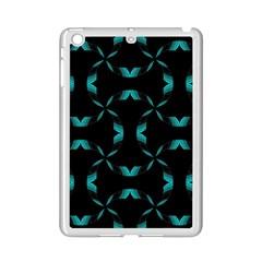 Background Black Blue Polkadot iPad Mini 2 Enamel Coated Cases