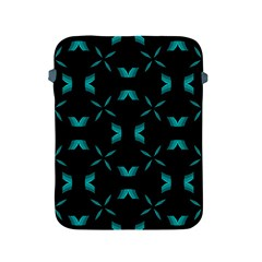Background Black Blue Polkadot Apple iPad 2/3/4 Protective Soft Cases
