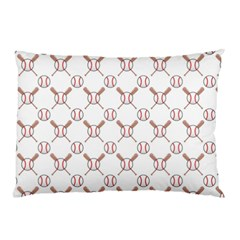 Baseball Bat Scrapbook Sport Pillow Case