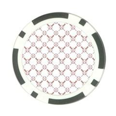 Baseball Bat Scrapbook Sport Poker Chip Card Guard (10 pack)