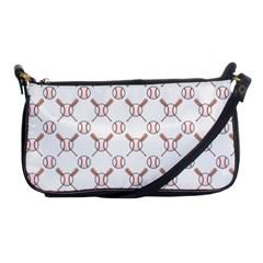 Baseball Bat Scrapbook Sport Shoulder Clutch Bags