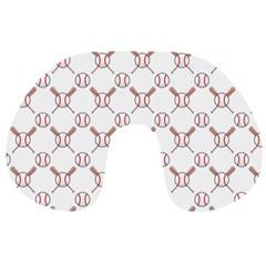 Baseball Bat Scrapbook Sport Travel Neck Pillows
