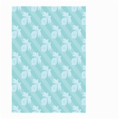Christmas Day Ribbon Blue Small Garden Flag (Two Sides)