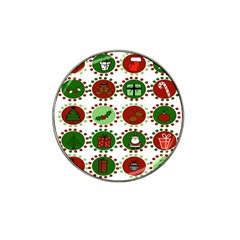 Christmas Hat Clip Ball Marker