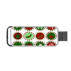 Christmas Portable USB Flash (One Side)