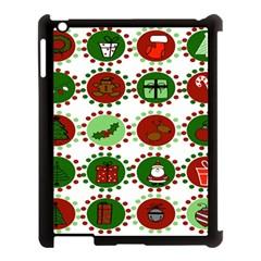 Christmas Apple Ipad 3/4 Case (black)