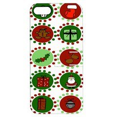 Christmas Apple iPhone 5 Hardshell Case with Stand