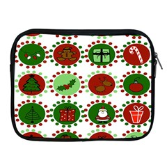Christmas Apple Ipad 2/3/4 Zipper Cases