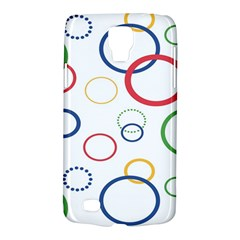 Circle Round Green Blue Red Pink Yellow Galaxy S4 Active