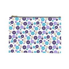 Buttons Chlotes Cosmetic Bag (Large)