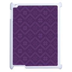 Pattern Apple iPad 2 Case (White)