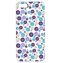 Buttons Chlotes Apple iPhone 5 Hardshell Case with Stand