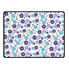 Buttons Chlotes Double Sided Fleece Blanket (Small)