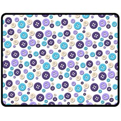 Buttons Chlotes Double Sided Fleece Blanket (Medium)