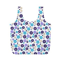 Buttons Chlotes Full Print Recycle Bags (M)