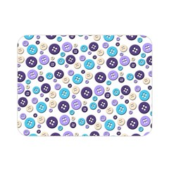 Buttons Chlotes Double Sided Flano Blanket (Mini)