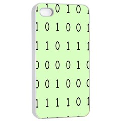 Code Number One Zero Apple iPhone 4/4s Seamless Case (White)