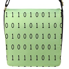 Code Number One Zero Flap Messenger Bag (S)