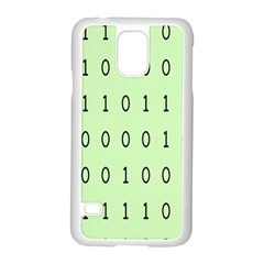 Code Number One Zero Samsung Galaxy S5 Case (White)