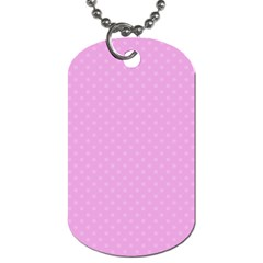 Dots Dog Tag (Two Sides)