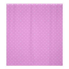 Dots Shower Curtain 66  x 72  (Large)