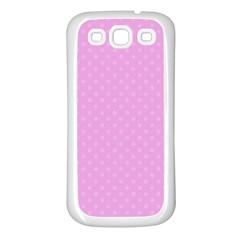 Dots Samsung Galaxy S3 Back Case (White)