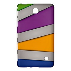 Colorful Geometry Shapes Line Green Grey Pirple Yellow Blue Samsung Galaxy Tab 4 (8 ) Hardshell Case