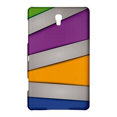 Colorful Geometry Shapes Line Green Grey Pirple Yellow Blue Samsung Galaxy Tab S (8.4 ) Hardshell Case